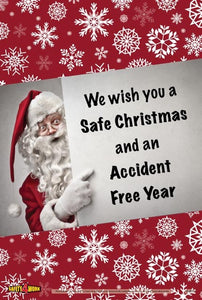 CM009- Christmas Workplace Safety Poster