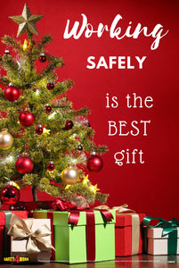 CM010- Christmas Workplace Safety Poster