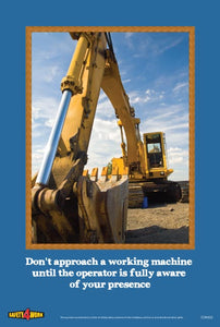 CON002- Construction Workplace Safety Poster