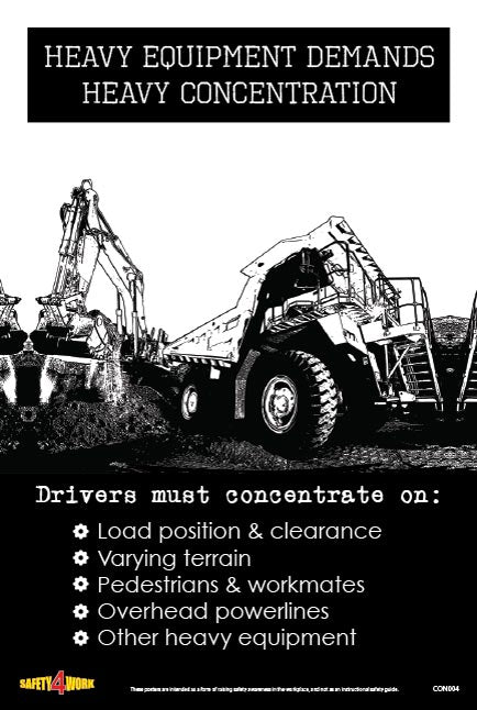 CON004- Construction Workplace Safety Poster