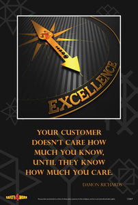CS007- Customer Service Workplace Safety Poster