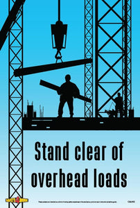 C&L002- Cranes and Lifting Workplace Safety Poster