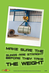 C&L004- Cranes and Lifting Workplace Safety Poster