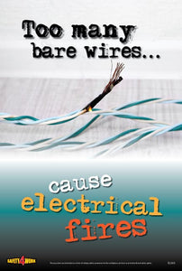EL003- Electrical Workplace Safety Poster