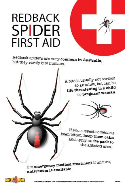 FA004- First Aid Workplace Safety Poster