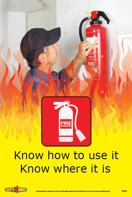 FI006- Fire Workplace Safety Poster