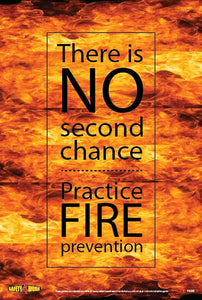 FI008- Fire Workplace Safety Poster