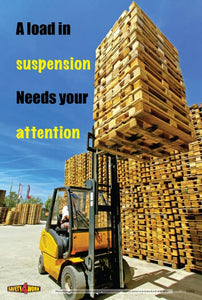 FO002- Forklift Workplace Safety Poster