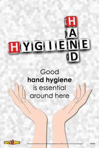 F&H005- Food and Hygiene Workplace Safety Poster