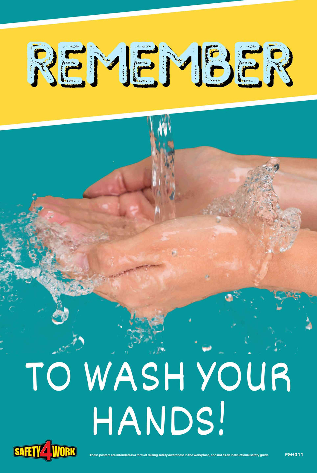 REMEMBER TO WASH YOUR HANDS A4 POSTER- FREE DIGITAL DOWNLOAD APRIL 2020(PDF)