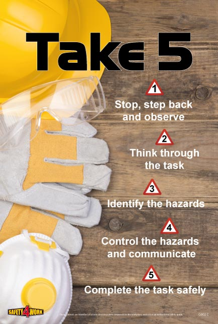 G002C- General Workplace Safety Poster