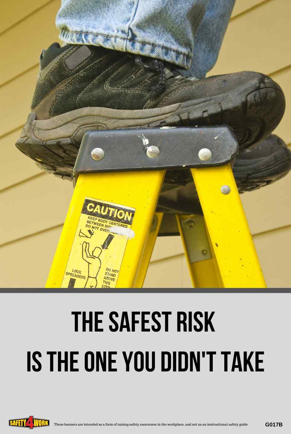 G017B- General Workplace Safety Poster