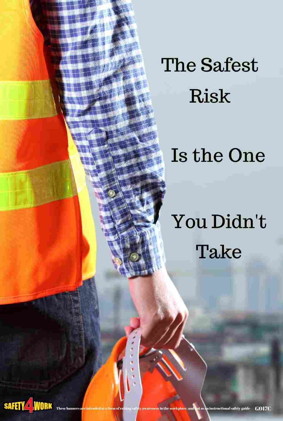 G017C- General Workplace Safety Poster