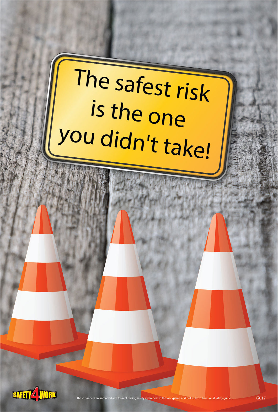 G017- General Workplace Safety Poster