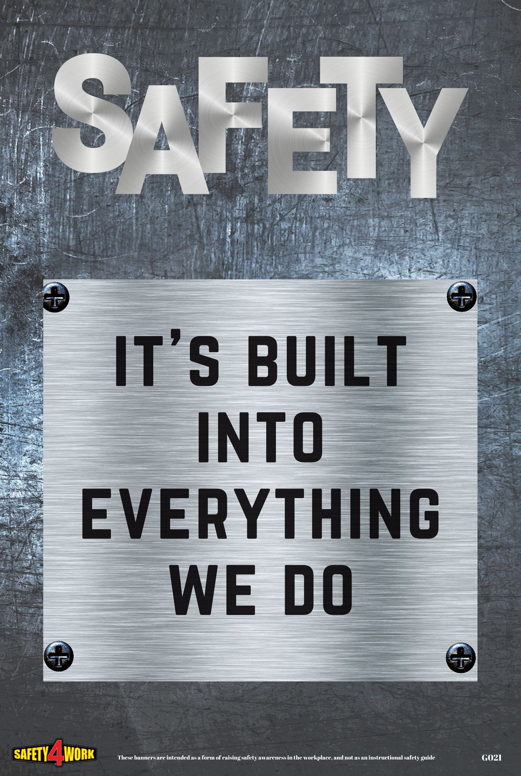G021- General Workplace Safety Poster