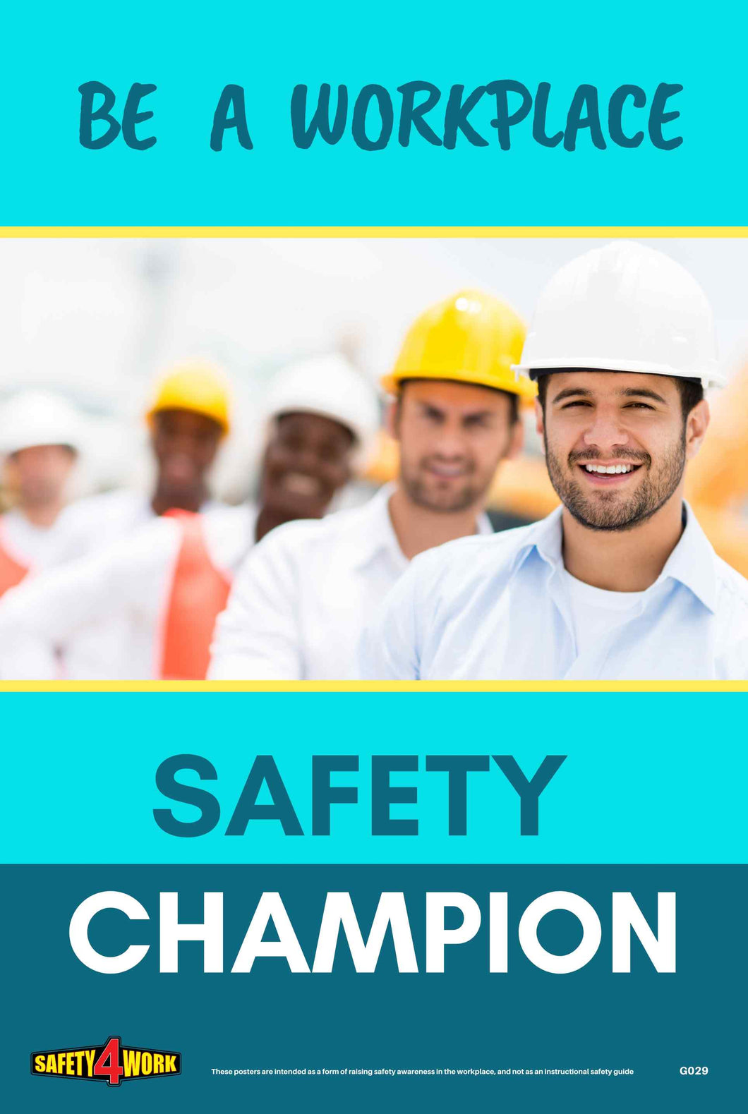 G029- General Workplace Safety Poster