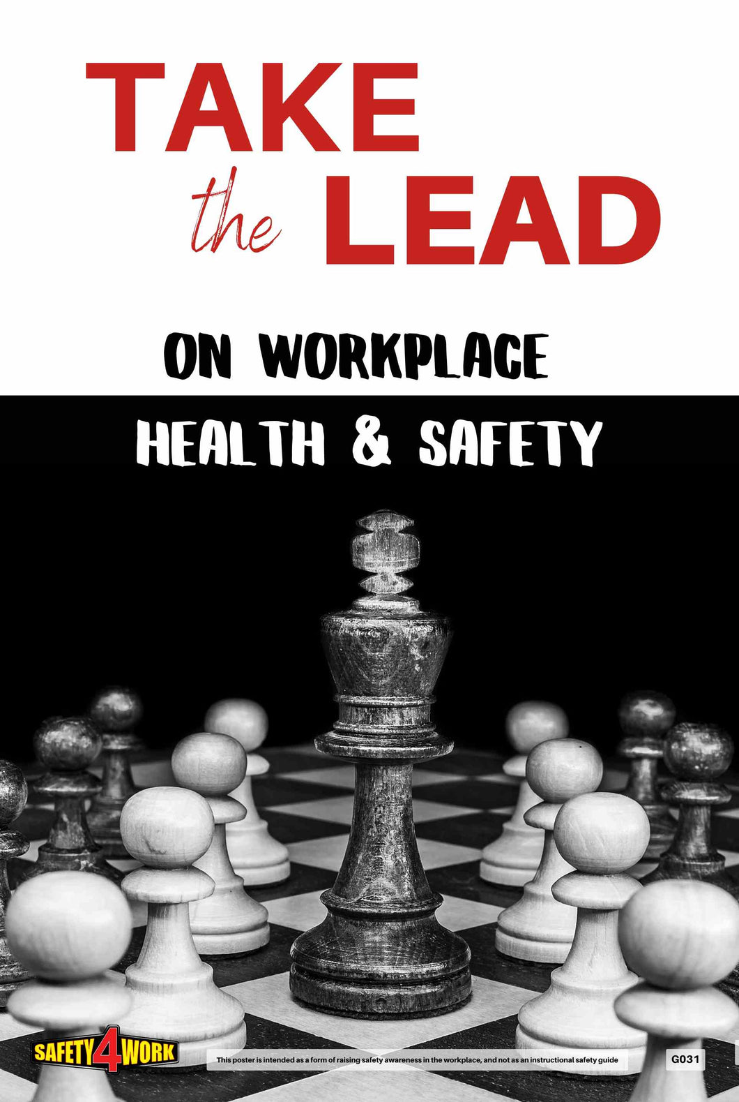 G031- General Workplace Safety Poster