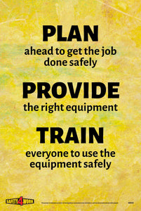 G032- General Workplace Safety Poster