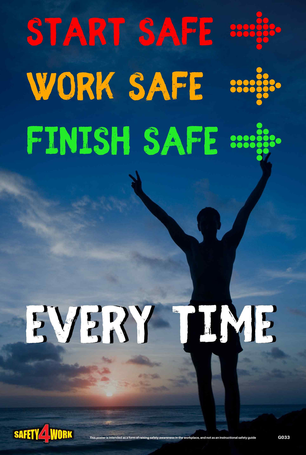 G033- General Workplace Safety Poster