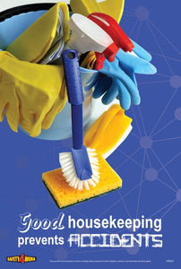 HK001- Housekeeping Workplace Safety Poster