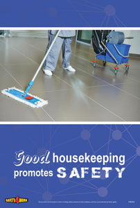 HK002- Housekeeping Workplace Safety Poster