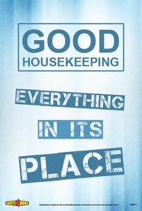 HK011- Housekeeping Workplace Safety Poster