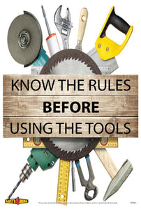 HT001- Handtools Workplace Safety Poster