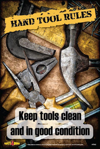 HT002- Handtools Workplace Safety Poster