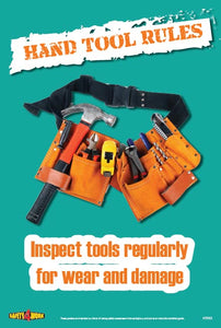 HT003- Handtools Workplace Safety Poster