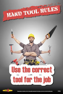HT004- Handtools Workplace Safety Poster