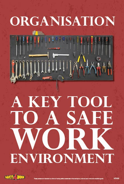 HT008- Handtools Workplace Safety Poster