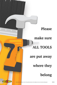 HT021- Handtools Workplace Safety Poster