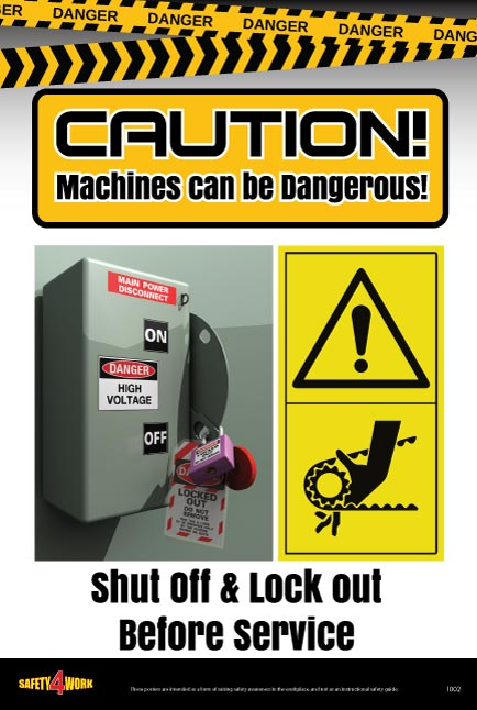 I002- Industrial Workplace Safety Poster