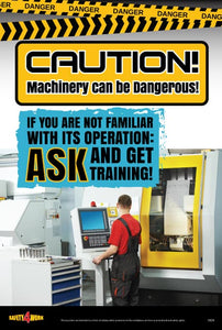 I004- Industrial Workplace Safety Poster