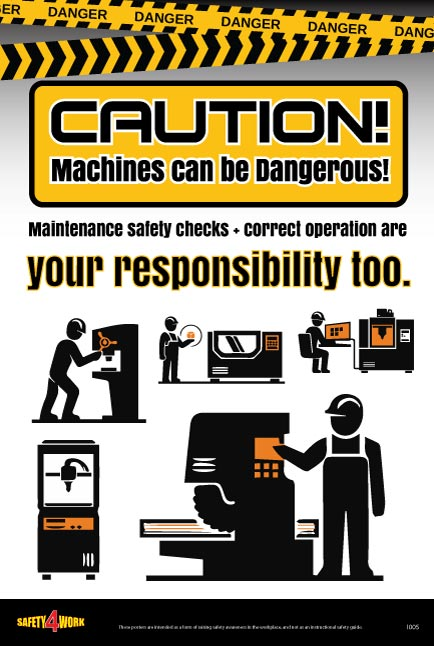 I005- Industrial Workplace Safety Poster