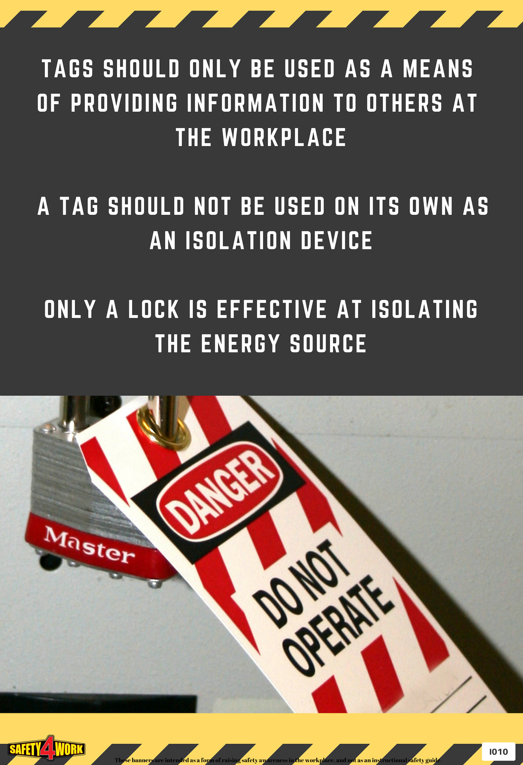 I010- Industrial Workplace Safety Poster