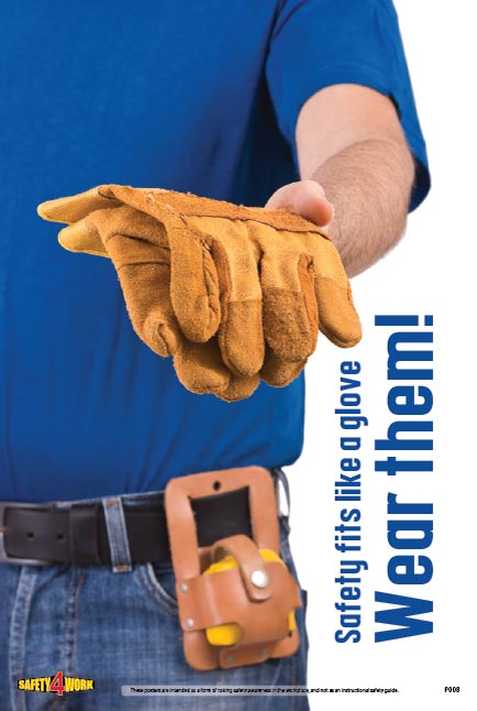 P008- PPE Workplace Safety Poster