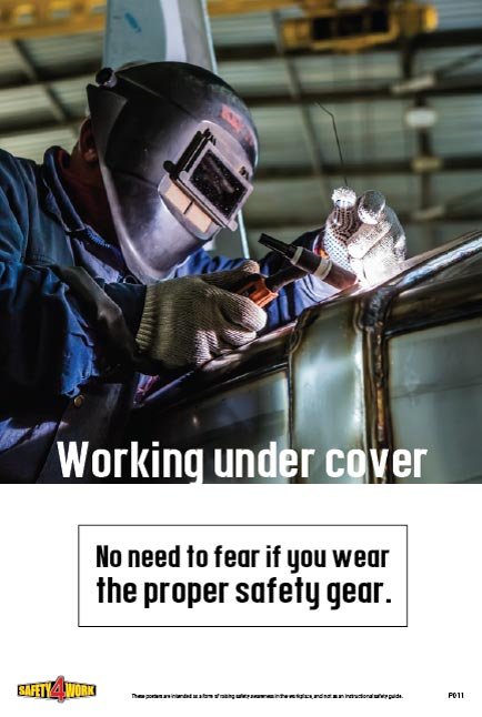 P011- PPE Workplace Safety Poster