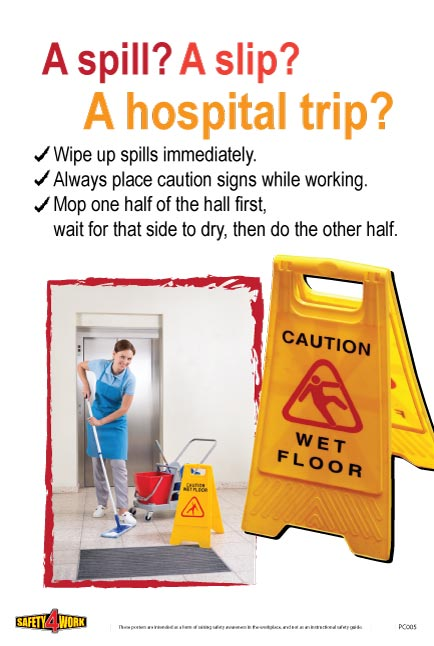PC005- Patient Care Workplace Safety Poster