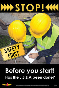 SOP002- SOP Workplace Safety Poster