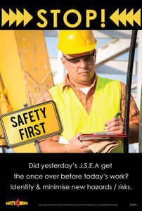 SOP003- SOP Workplace Safety Poster