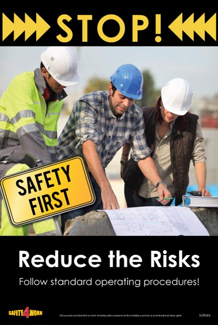 SOP005- SOP Workplace Safety Poster