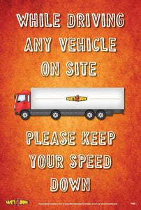 T009- Transport Workplace Safety Poster