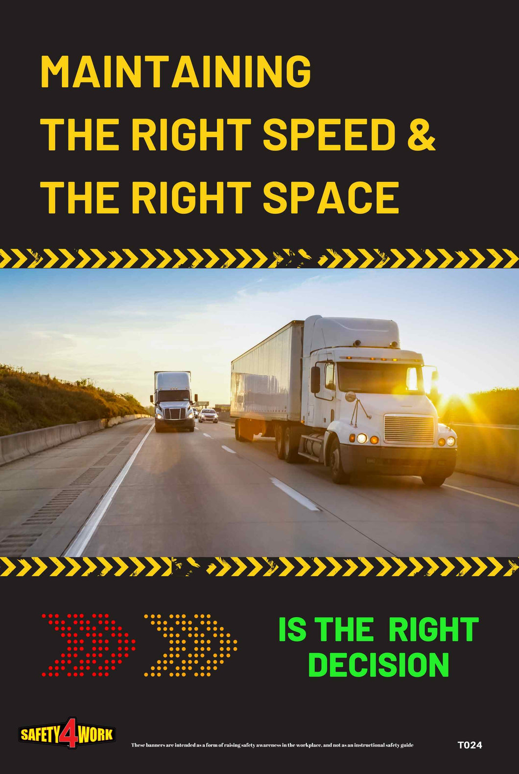 T024B- Transport Workplace Safety Poster