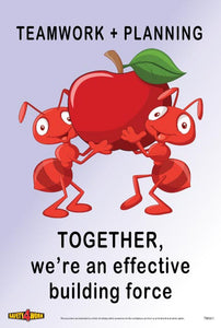 TW001- Teamwork Workplace Safety Poster