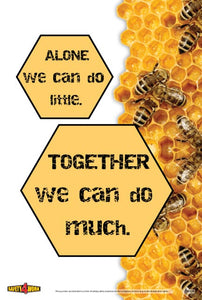 TW004- Teamwork Workplace Safety Poster