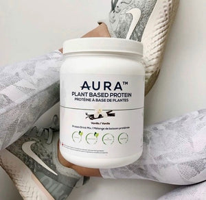 AURA Plant Based Protein Powder – 500g / 14 Servings
