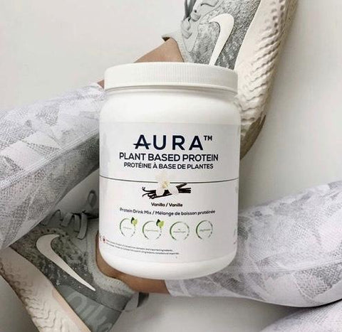 AURA™ Plant Based Protein Powder - 500g / 14 Servings