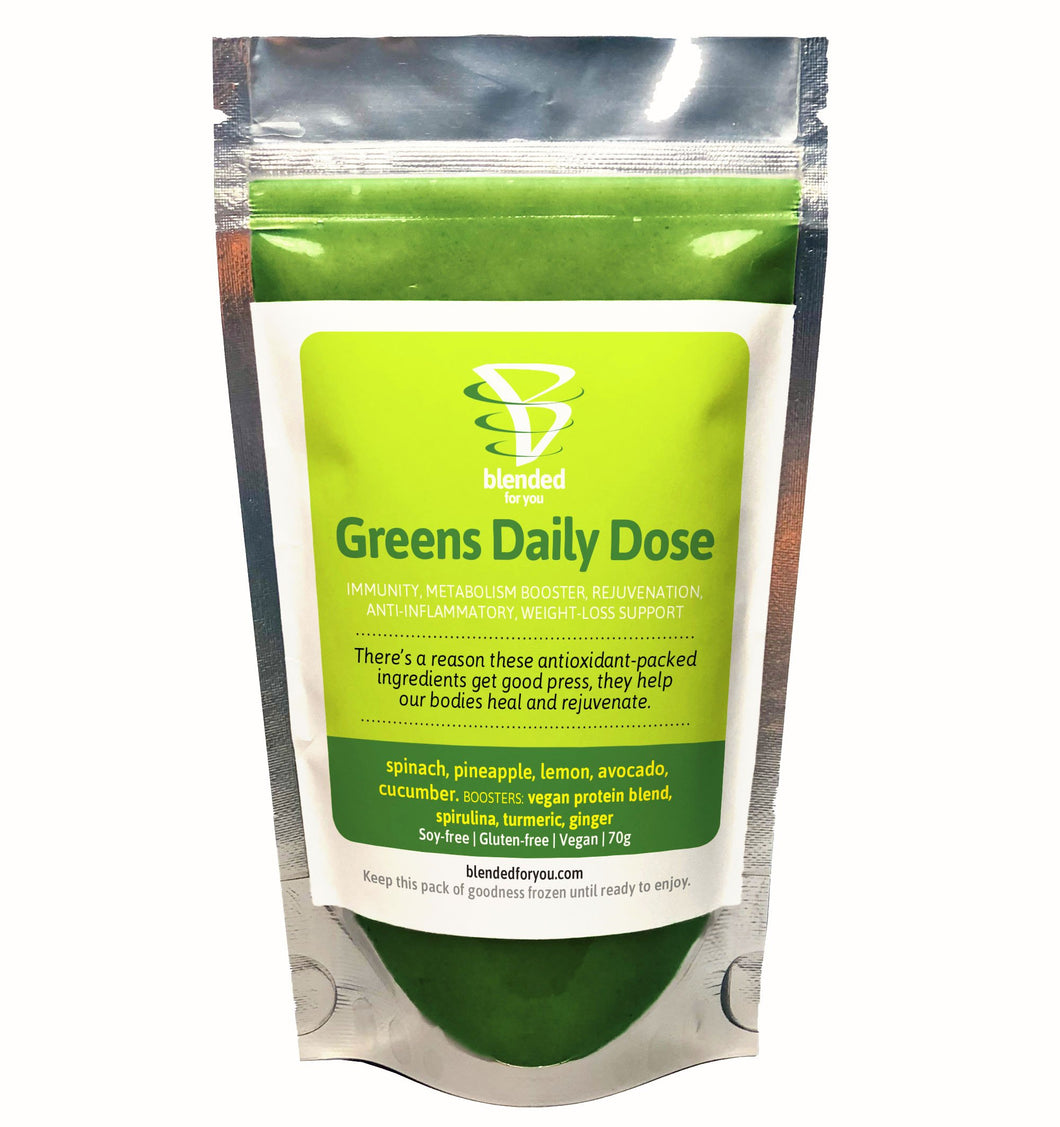BFY Greens Daily Dose Smoothie