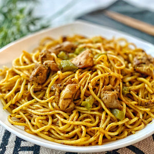 Chicken Noodles with Veggies